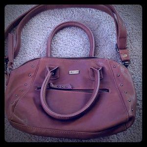 Vans skater brown shoulder tote purse